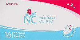 Духи, Парфюмерия, косметика Тампоны Normal, 3 капли, 16шт - Normal Clinic