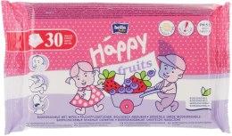 """Духи, Парфюмерия, косметика Влажные салфетки """"Клубника и черника"""" - Bella Baby Happy Fruits"""