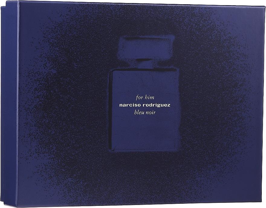 Narciso Rodriguez for Him Bleu Noir - Набор (edp/100 ml + edp/10 ml + sh/gel/75 ml)