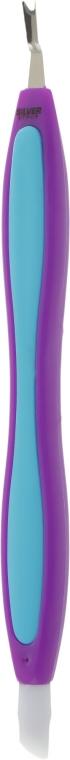 Триммер для кутикулы ST-05/1, сиренево-голубой, 14см - Silver Style