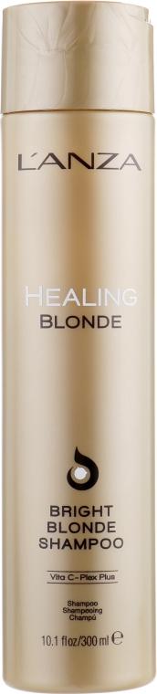 Целебный шампунь для натуральных и обесцвеченных светлых волос - L'anza Healing Blonde Bright Blonde Shampoo