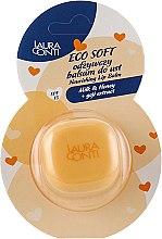 "Духи, Парфюмерия, косметика Бальзам для губ ""Молоко и мед"" - Laura Conti Ecosoft Nourishing Lip Balm"