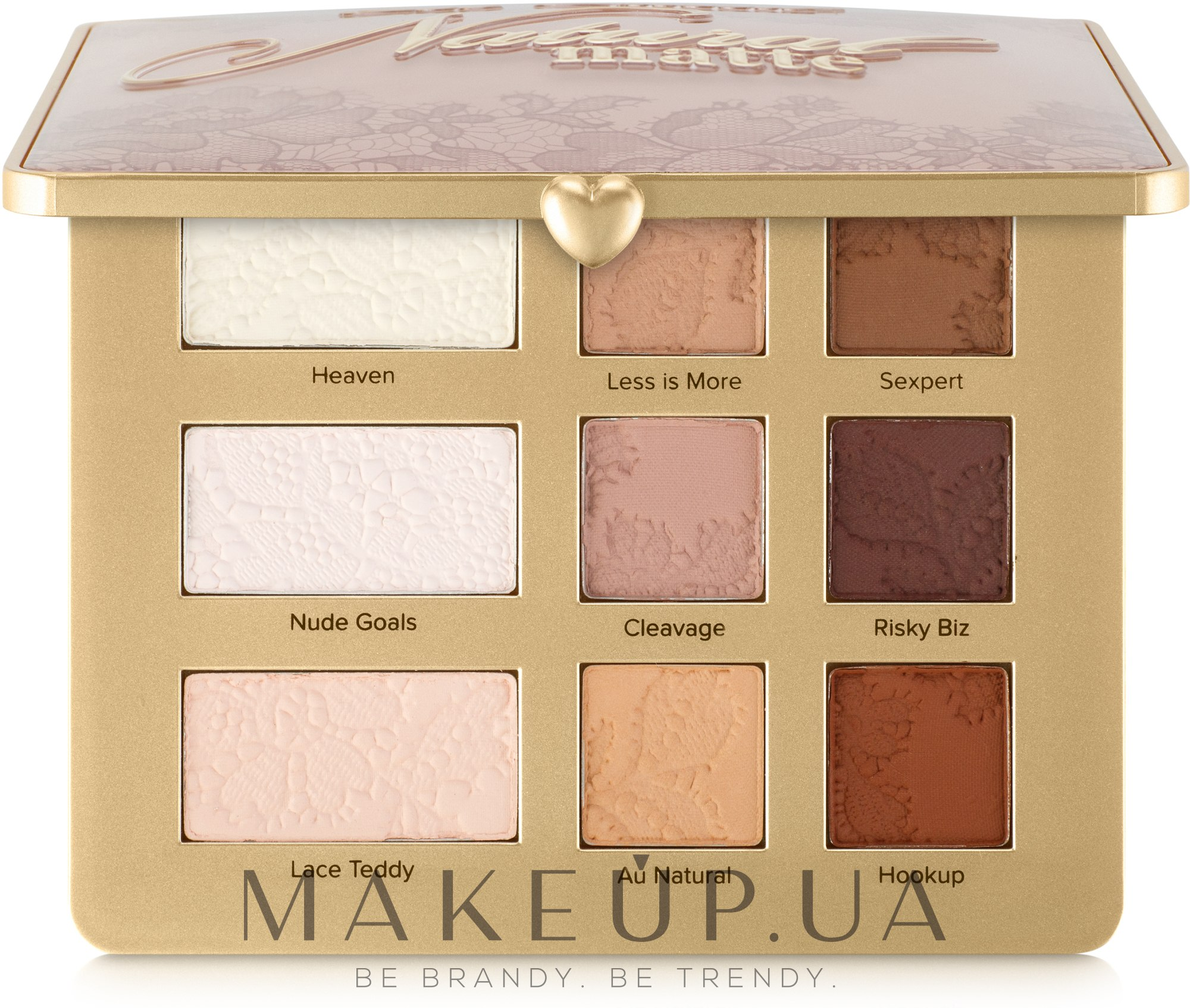 Палетка теней - Too Faced Natural Matte Neutral Eye Shadow Collection 2018 — фото 12g