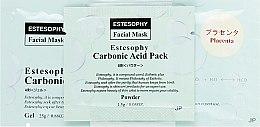 Духи, Парфюмерия, косметика Маска для карбокситерапии лица с плацентой - Estesophy Carbonic Acid Pack Placenta