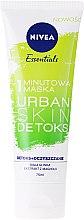 Духи, Парфюмерия, косметика Детокс-маска для лица - Nivea Essentials 1-Minute Urban Skin Detox Mask