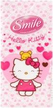 "Духи, Парфюмерия, косметика Сухие салфетки ""Hello Kitty"" 10шт, белые - Smile Ukraine Hello Kitty"