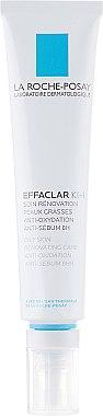 Восстанавливающее средство для ухода за комбинированной и склонной к жирности кожи лица - La Roche-Posay Effaclar K+