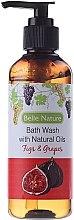 Духи, Парфюмерия, косметика Гель для душа с ароматом инжира и винограда - Belle Nature Figs & Grapes Bath Wash
