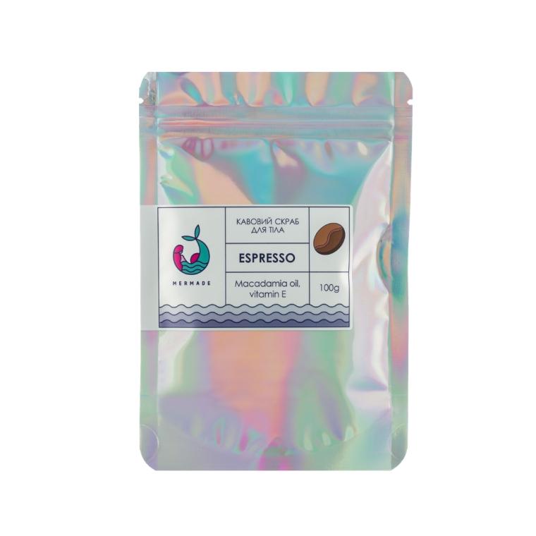 Кофейный скраб для тела - Mermade Espresso Body Scrub