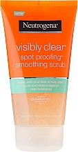 Духи, Парфюмерия, косметика Скраб для лица - Neutrogena Visibly Clear Spot Proofing Smoothing Scrub