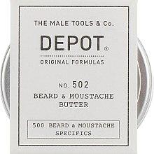 Духи, Парфюмерия, косметика Питательное и смягчающее масло для бороды и усов - Depot Beard&Moustache Specifics 502