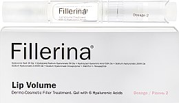 Духи, Парфюмерия, косметика Гель для увеличения объема губ, уровень 2 - Fillerina Lip Volume Grade 2