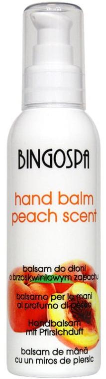 Бальзам персиковый для рук - BingoSpa Balsam Peach For Hands