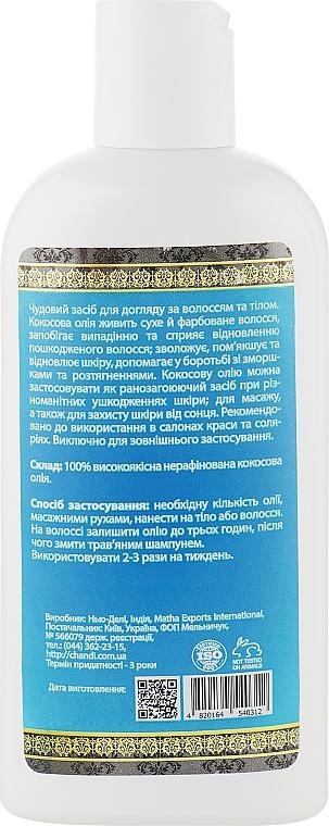 Масло для волосся і тіла - Chandi Coconut Oil — фото N4