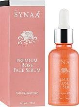 Духи, Парфюмерия, косметика Сыворотка для лица омолаживающая с маслом дамасской розы - Synaa