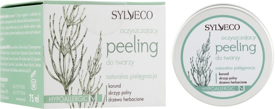 Очищающий скраб для лица - Sylveco