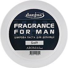"""Духи, Парфюмерия, косметика Парфюмированная сахарная паста для депиляции """"Для мужчин"""", мягкая - Danins Fragrance For Man Sugar Paste Soft"""