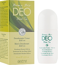 Духи, Парфюмерия, косметика Роликовый дезодорант для мужчин - Bema Cosmetici Bio Deo Wood Tea Man Deodorant Roll
