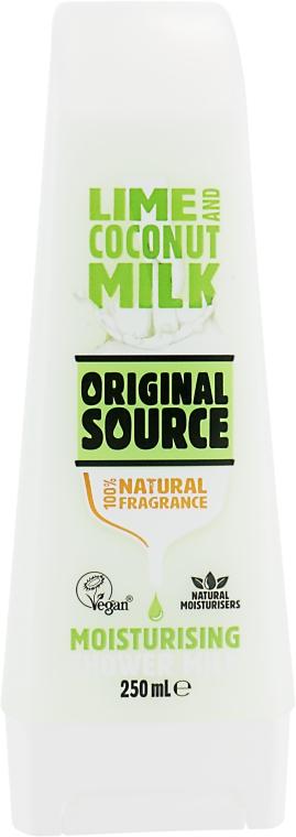 """Молочко для душа """"Лайм и кокосовое молочко"""" - Original Source Lime & Coconut Milk Shower Milk"""