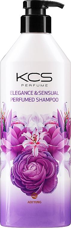Шампунь сухих и поврежденных волос - KCS Elegance & Sensual Perfumed Shampoo
