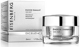 Духи, Парфюмерия, косметика Ночной крем для лица - Jose Eisenberg Energie Diamant Soin Nuit