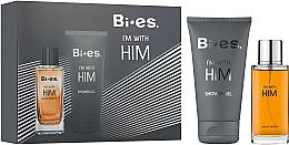 Духи, Парфюмерия, косметика Bi-es Bi-es I'm With Him - Набор (edt/100ml + sh/gel/150ml)