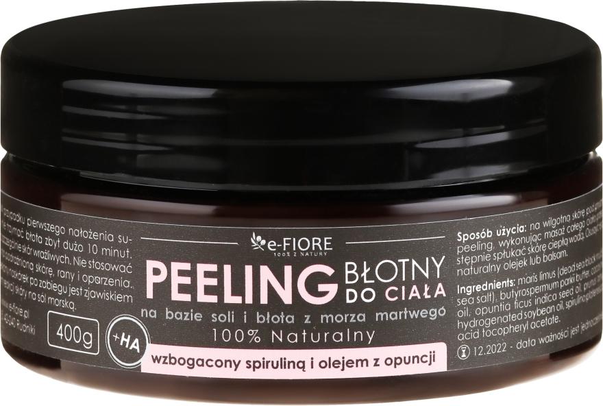 Пилинг для тела с спирулиной, маслом опунции и кислотой - E-Fiore Body Peeling