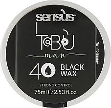 Духи, Парфюмерия, косметика Черный воск для волос - Sensus Tabu Black Wax 40