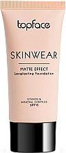 Духи, Парфюмерия, косметика Тональный крем - Topface Skinwear Matte Effect SPF 15