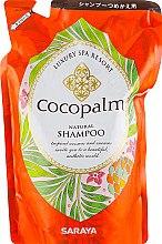 Парфумерія, косметика Шампунь для оздоровлення волосся і шкіри голови - Cocopalm Luxury Spa Resort Natural Shampoo (дой-пак)