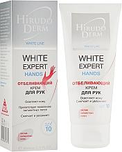 Відбілюючий крем для рук - Hirudo Derm White Expert Hands — фото N1