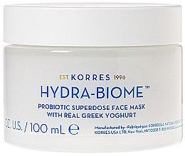 Духи, Парфюмерия, косметика Маска для лица с греческим йогуртом - Korres Greek Yoghurt Hydra-Biome Probiotic Superdose Face Mask