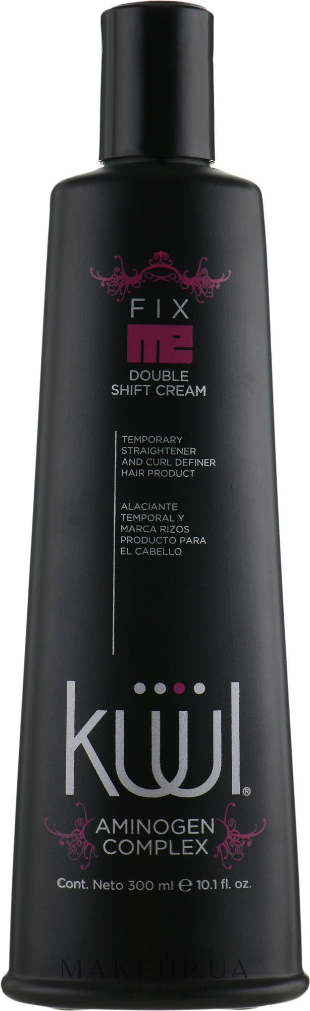 Лосьйон для укладання волосся - Kuul Fix Me Double Shift Cream — фото 300ml