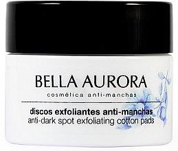 Духи, Парфюмерия, косметика Антипигментные очищающие диски для лица - Bella Aurora Anti-Dark-Spot Exfoliation Pads