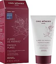 Скраб для тіла - Cinq Mondes Puree de Papaye — фото N2