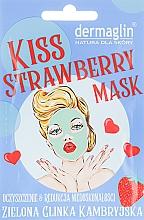 Духи, Парфюмерия, косметика Маска для лица - Dermaglin Kiss Strawberry Mask