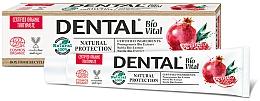 "Духи, Парфюмерия, косметика Зубная паста ""Натуральная защита"" с гранатом - Dental Bio Vital Natural Protection Toothpaste"