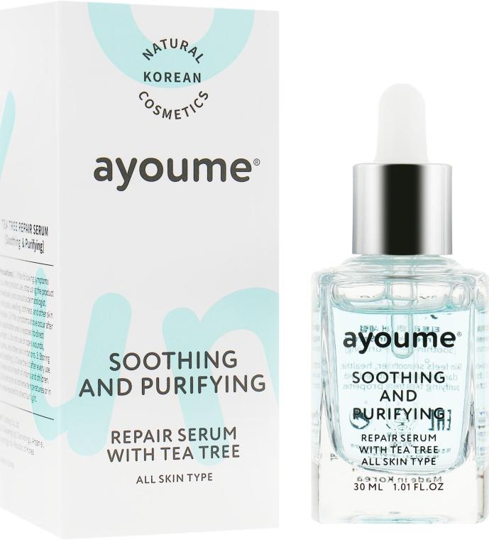 Сыворотка для лица успокаивающая - Ayoume Tea Tree Soothing & Purifying Serum