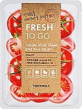 Духи, Парфюмерия, косметика Освежающая тканевая маска с томатами - Tony Moly Fresh To Go Mask Sheet Tomato