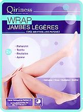 Духи, Парфюмерия, косметика Патчи для ног - Qiriness Jambes Legeres Cool Mentol Leg Patches