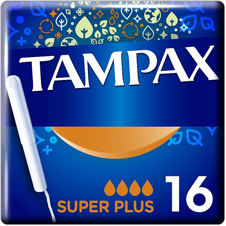 Тампоны с аппликатором, 16 шт - Tampax Super Plus Duo