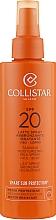 Духи, Парфюмерия, косметика Спрей для загара - Collistar Tanning Moisturizing Milk Spray SPF 20