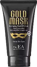 Духи, Парфюмерия, косметика Маска для лица - Dr.EA Gold Mask Anti-Aging Peel-Off Mask