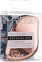 Компактная расческа для волос - Tangle Teezer Compact Styler Rose Gold — фото N3