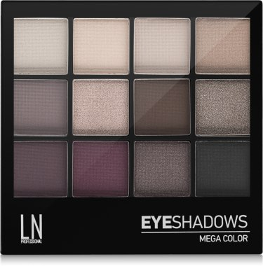 УЦЕНКА Палетка теней для глаз - LN Professional Mega Color Eyeshadows Kit * — фото N2