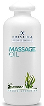 Духи, Парфюмерия, косметика Масло для массажа с водорослями - Hristina Professional Seaweed Massage Oil