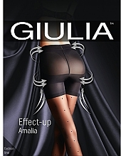 "Парфумерія, косметика Колготки для жінок ""Effect Up Amalia"" 40 Den, nero - Giulia"