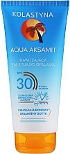 Духи, Парфюмерия, косметика Увлажняющая эмульсия для загара - Kolastyna Aqua Aksamit Suncare Emulsion SPF 30