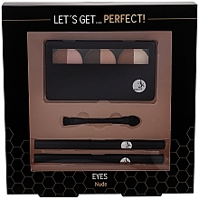 Духи, Парфюмерия, косметика Набор для макияжа глаз - Cosmetic 2K Lets Get Perfect Eyes Nude