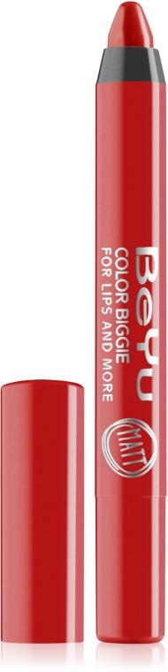 Помада-карандаш для губ - BeYu Color Biggie For Lips And More